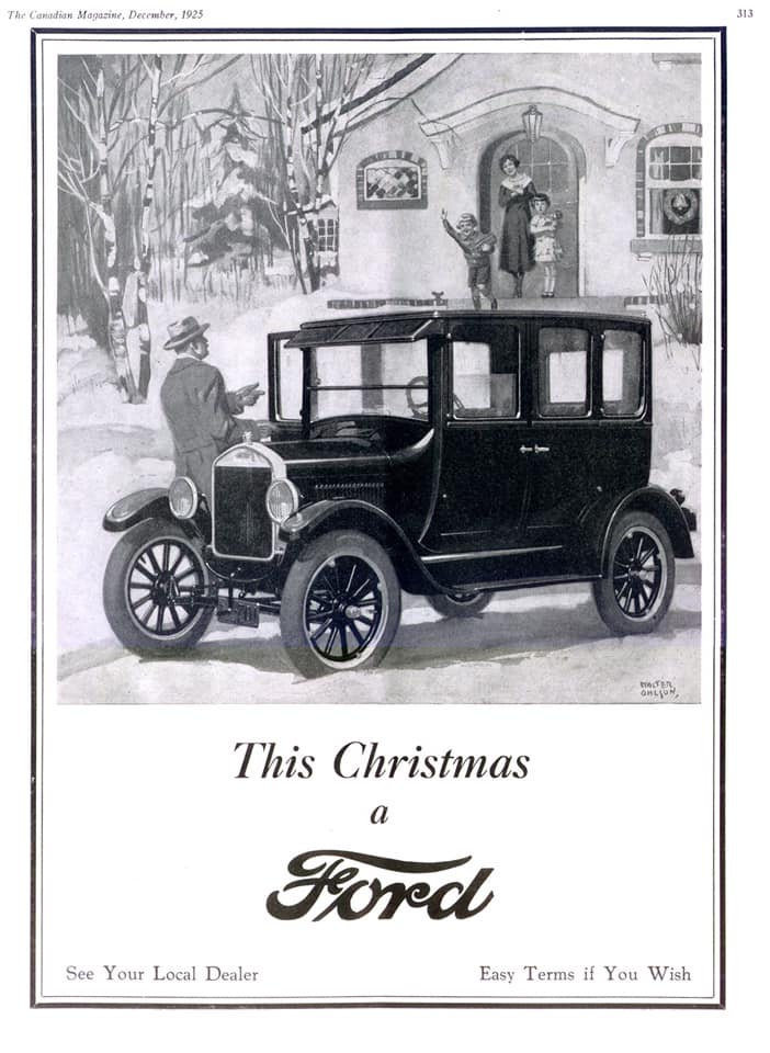 This Christmas a Ford